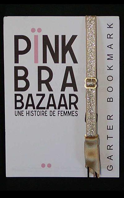 Garter bookmark