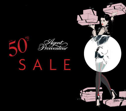 Winter Sale 2014 x Agent Provocateur