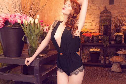Designer lingerie on Miroir de Muses