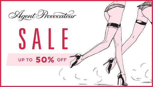 Summer Sale 2015 on Agent Provocateur