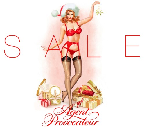 Agent Provocateur sale winter 2013