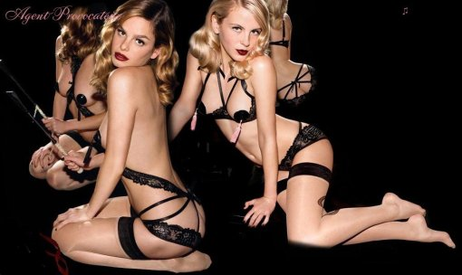 Agent Provocateur lingerie shopping