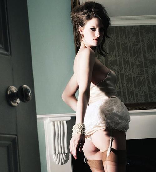 Agent Provocateur bridal lingerie