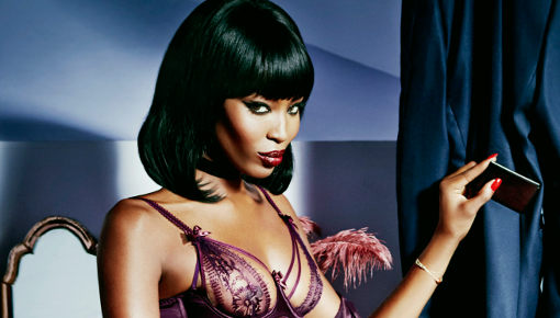 Agent Provocateur Naomi Campbell Spring / Summer 2015