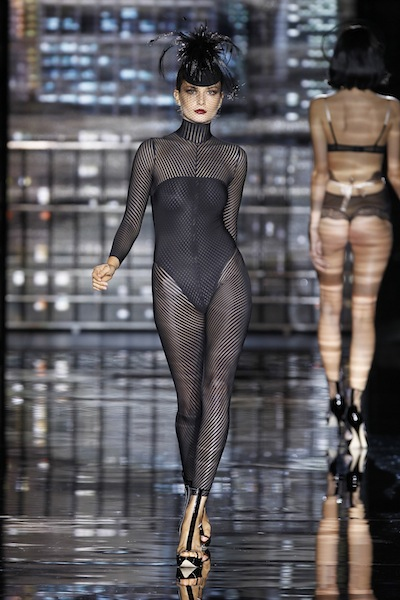 catwalk Andres Sarda lingerie