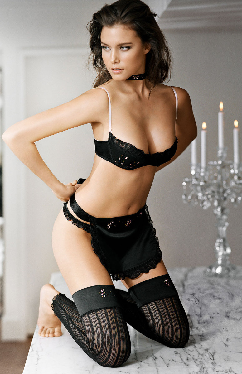The Black edition lingerie