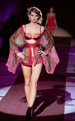 luxury lingerie Carine Gilson