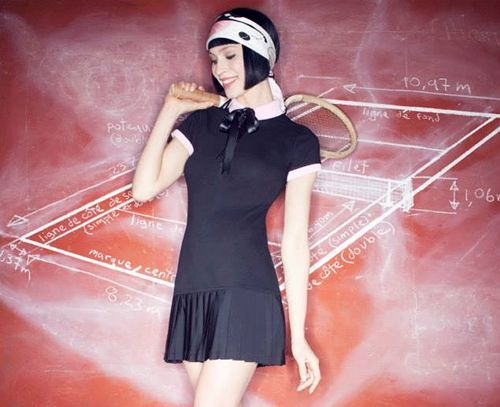 Chantal Thomass Tennis Clothes for Roland Garros