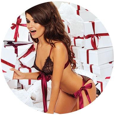 Lingerie de Noël Body Amoralle
