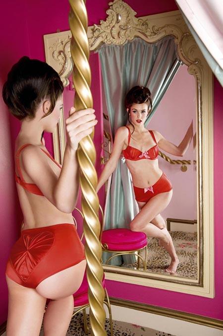 Miss Lala's Boudoir christmas lingerie