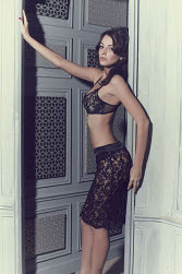 Lace skirt dentelles Les Jupons de Tess