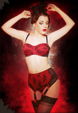 Kiss Me Deadly Retro Lingerie