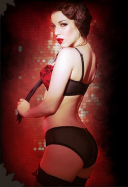 Kiss Me Deadly Pin Up Lingerie