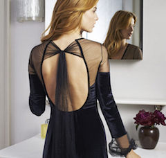 Christmas Lingerie 2014, XI: Two sumptuous evening outfits designed by Myla