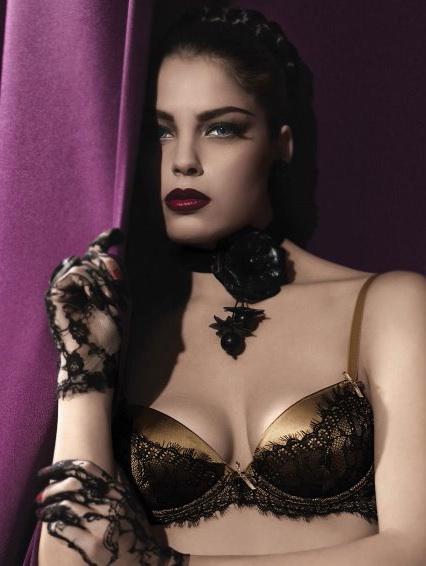 Parah noir lingerie
