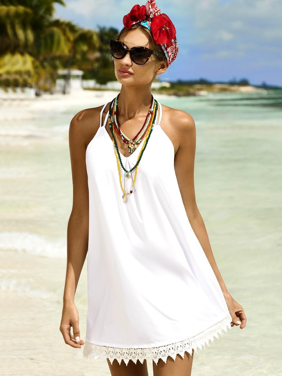 Фото нарядов на пляж для девушек