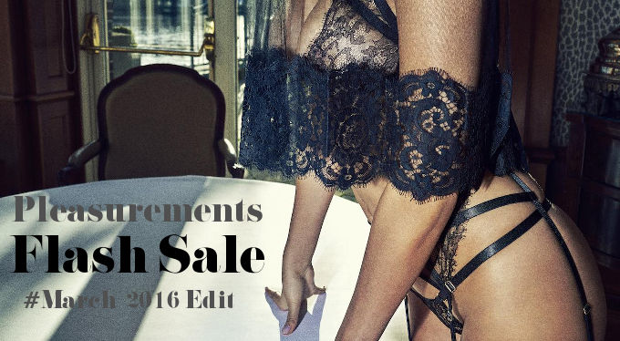 Flash Sale on Pleasurements - March 2016