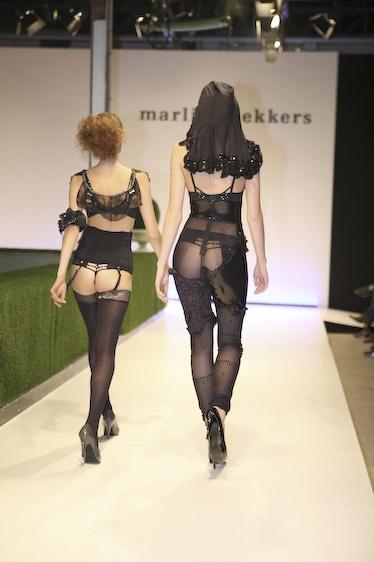 Undressed lingerie