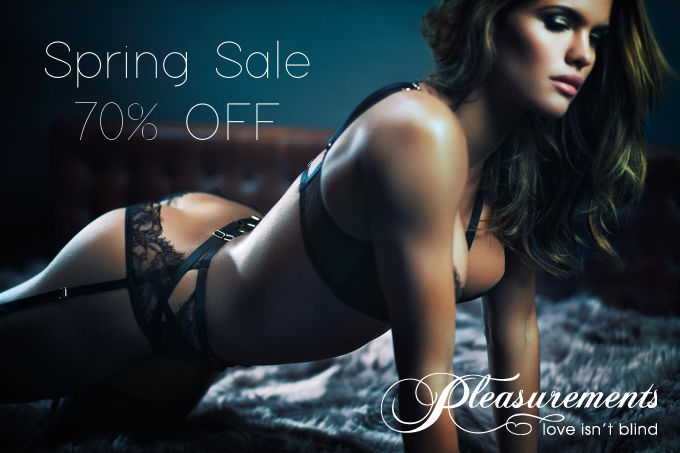Spring Sale on Pleasurements - March 2017