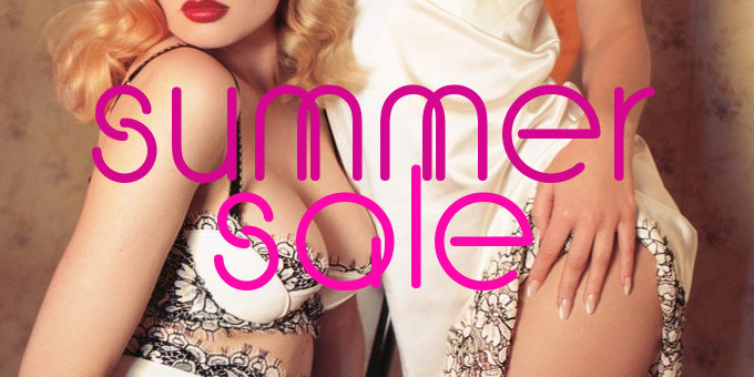Lingerie & Swimwear summer sale on  Full Disclosure