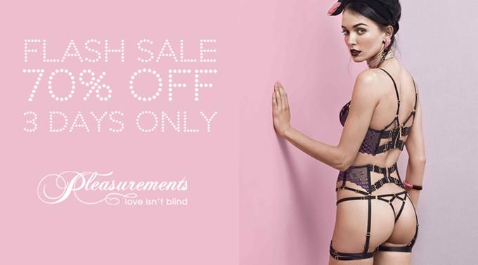 Flash Sale on Pleasurements